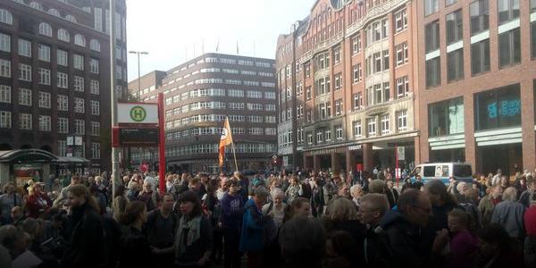 Anti TTIP & CETA Demo Hamburg 2014